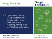 NATIONAL ALLERGY AWARENESS MONTH