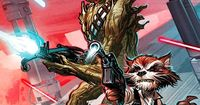 Rocket Raccoon & Groot / Han Solo & Chewbacca - Star Wars & Guardians of the Galaxy mashup