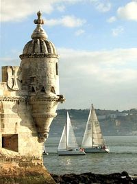 Belém Tower or the Tower of St Vincent - Lisbon, Portugal... I can't get over how absolutely perfect this photo is.