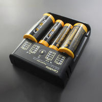 PALIGHT CARONITE ES4 3.7V 2A USB Battery Charger For Li-ion NiMH NiCD Battery