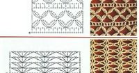 Mesh stitch patterns . . . . �ƒ�Trish W ~ http://www.pinterest.com/trishw/ . . . . #crochet