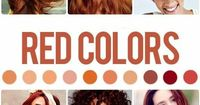 Red hair color shades