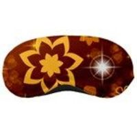 brown sleep mask