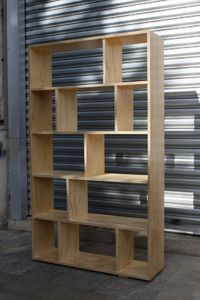 Plywood Bookcase Two simple bookcase designs that are made with either one or two sheets of plywood Discover thousands of images about Plywood Bookcase