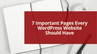 7 Important Pages Every WordPress Website Should Have
