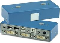 K202D-SH 2 Port DVI-D Secure most protections and separations between connected computers available on the market. Buy K202D-SH, 2 port secure KVM Switch from KVMSwitchTech.com