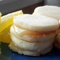 Angel Whispers ~ These are lemony little sandwich cookies that just melt in your mouth!