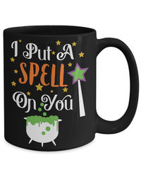 25% off Sale I put a spell on you halloween $18.95