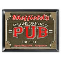 Personalized Pub Signs ($30)