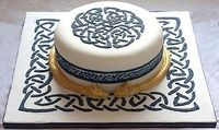 Celtic Knot Cake