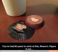 Come on, Reese's