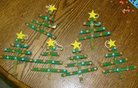 Popsicle Stick Projects christmas | Christmas Ornaments Popsicle Sticks | Ornaments | Custom Designs
