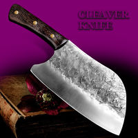 Chinese Cleaver Chef Kitchen Knife Home Cooking Tool $97.90