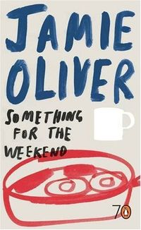 I like Jamie Oliver. He has nice food ideas. I've never seen him write, but this cover makes me think he scribbled this down and I like it that way. Way to go Penguin