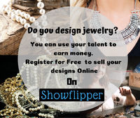 hey are you an artist?Do you design jewelry ?If yes, then here is the platform for you to sell your jewelry and earn money online on Showflipper. https://www.showflipper.com/sell-jewelry