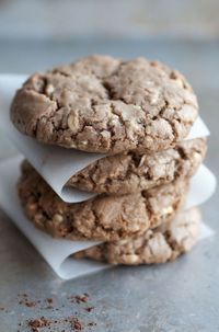Chunky And Chewy Treat: Buttery White Chocolate Chip Cocoa Cookies