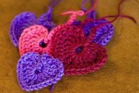 If you're new to crochet, here's one of the simplest free crochet patterns to try your hand at. You can make one Pretty Little Heart Ornament in 15 minutes, so