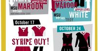 We know you're already planning your wardrobe for the 2015 Mississippi State football season! Here's your fan-wear guide! #hailstate #newsouthweekends