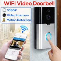 Smart Doorbell WiFi Wireless 1080P HD Video Camera 128G Two-Way Talk Door Bell