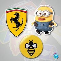 Self Adhesive & Vinyl Stickers at RegaloPrint Read the story here https://goo.gl/xmfNUu Or Goto our website RegaloPrint.com