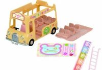 Sylvanian Families Nursery Double Decker Bus Double Decker Bus can carry 14 babies at once. Suitable item for playing with Forest Nursery (sold separately).Figures not included.Suitable (Barcode EAN = 5054131051016) http://www.comparestore...