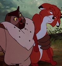 *BIG MAMA & TOD ~ The Fox and the Hound, 1981