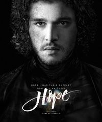 #OriolMiró 's #calligraphy with #JonSnow 's pretty face <3 #gameofthrones #got #handsome #yum