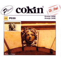 Cokin P030 Orange 85B Filter The Cokin Orange (85B) Colour filter is a conversion filter to allow the use of Type B tungsten films in daylight. The Orange (85B) Colour filter decreases the colour temperature from 5500 K to 3200 http://www....