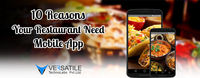 Are you running a food business? Want more customer come to your restaurant? Develop restaurant mobile app for it. More and more user order food from the mobile app and food business rock with mobile app. Read this 10 reason how mobile application can gro...