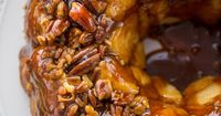 These Gooey Carmel Pull-Aparts are the perfect holiday breakfast - just like monkey bread!