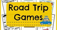 FREE PRINTABLE ROAD TRIP TRAVEL GAMES + 10 WAYS TO KEEP YOUR KIDS ENTERTAINED WHILE TRAVELING | The Things I Love Most