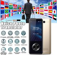M9 107 Languages Smart Instant Voice Translator WIFI Online Offline Real-time Simultaneous Translation Phonto Test Oral Trabslate