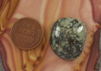 26 Carat Nevada Natural Silver Peak Variscite Cabochon Loose Gemstone for Jewelry Making $26.00