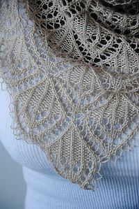 Ravelry: Crystal Chandelier Shawl pattern by Maria Olsson (fingering weight)