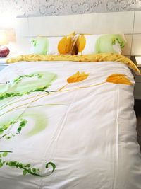 100% Cotton 6pcs set Mura, duvet cover bed set, Queen Size (Set includes: duvet cover, flat sheet, 4 pillow cases) $159.99