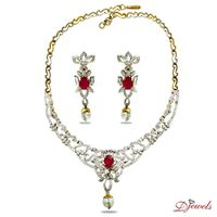 Bearded Necklace Set l.jpg  *** ENJOY WITH TRENDING & EXCLUSIVE DIAMOND JEWELLERY COLLECTION BY Djewels.org ON THIS CHRISTMAS & NEW YEAR***  Djewels the company which is pioneered in using latest techniques, implementing newer ideas, cost &...