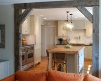 Use a post to add architectural interest, create a focal point or just give your open kitchen some structure. Before you tear down a wall to open your k...