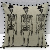 skeleton cushion