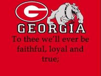 University of Georgia Bulldogs - fight song with words - Hail to Georgia