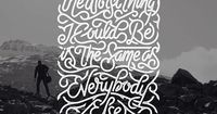 A year have passed since we last featured the wonderful work by Indonesian typographer and hand-lettering artist Mister Doodle, so I thought it was about time t