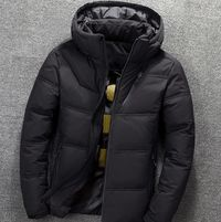 Elegant Thick Winter Warm Hooded Fashion Mens Jacket Coat,NEW,on Sale!