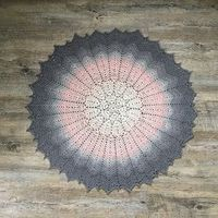 Ravelry: Evermore Bloom Heirloom Shawl pattern by Mel Harrison