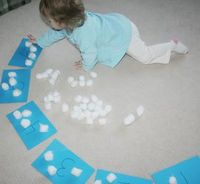 Counting Clouds activity - great for learning to count and would work well with lesson on God creating the sky.
