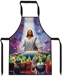 Jesus Died For Your Sims Cooking Apron $29.99