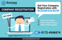 Get Company Registration online in India as Private Ltd, Public Ltd, OPC, LLP etc. in affordable prices through BusinessCrow. They are the leading financial and legal service providers and offers the best class services with lightning fast solutions. They...