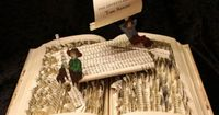 Stories Jump Out of the Pages with 3D Book Sculptures | WebUrbanist