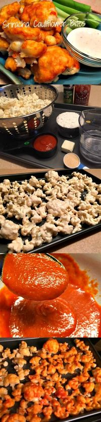 Addicting! Sriracha Cauliflower Bites Recipe - Weve Tried It