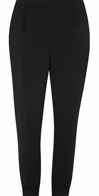 Dorothy Perkins Womens Tall Black Satin Peg Trousers- Black Tall pull on black crepe peg trousers with satin lining. 99% Polyester,1% Elastane. Machine washable. http://www.comparestoreprices.co.uk//dorothy-perkins-womens-tall-black-satin-peg-trou...
