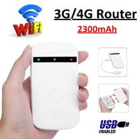 Portable Wifi 3G/4G Router LTE Wireless Mobile Wifi Hotspot SIM Card Slot LTE-FDD 800/1800/2600mhz