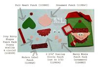 Elf on the Shelf Stampin' Up Punch Art directions and supply list